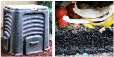 commercial composter using BSF to process food scrap waste